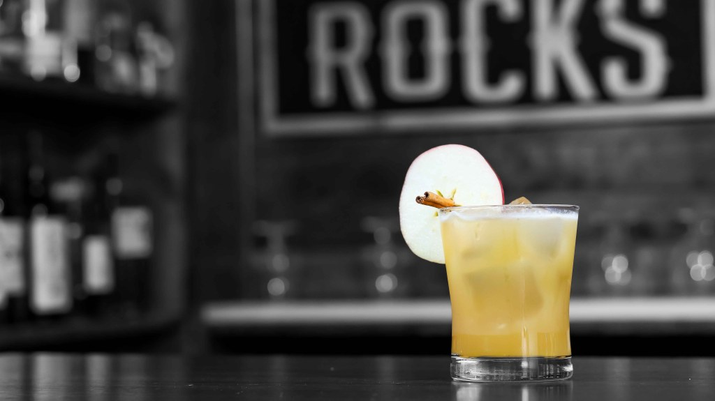 Whiskey Apple Cider Old Fashioned