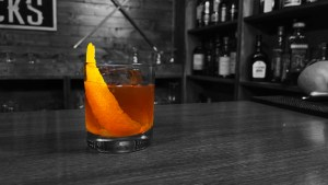 Maple Rum Old Fashioned